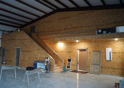 barndominium-lubbock-framing-work