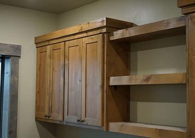 barndominium-office-lubbock-shelves
