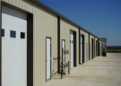 commercial-metal-building-lubbock-back-garage