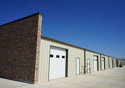 commercial-metal-building-lubbock-garage-view